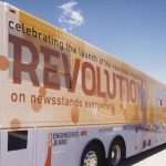 Revolution tour bus