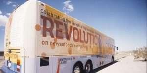 Revolution tour bus